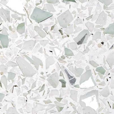 Crushed Mirror Terrazzo Tile Formula