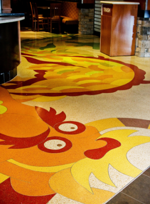 Heritage Glass Recycled Terrazzo Glass